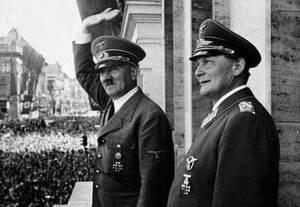 Hitler y Hermann Goring